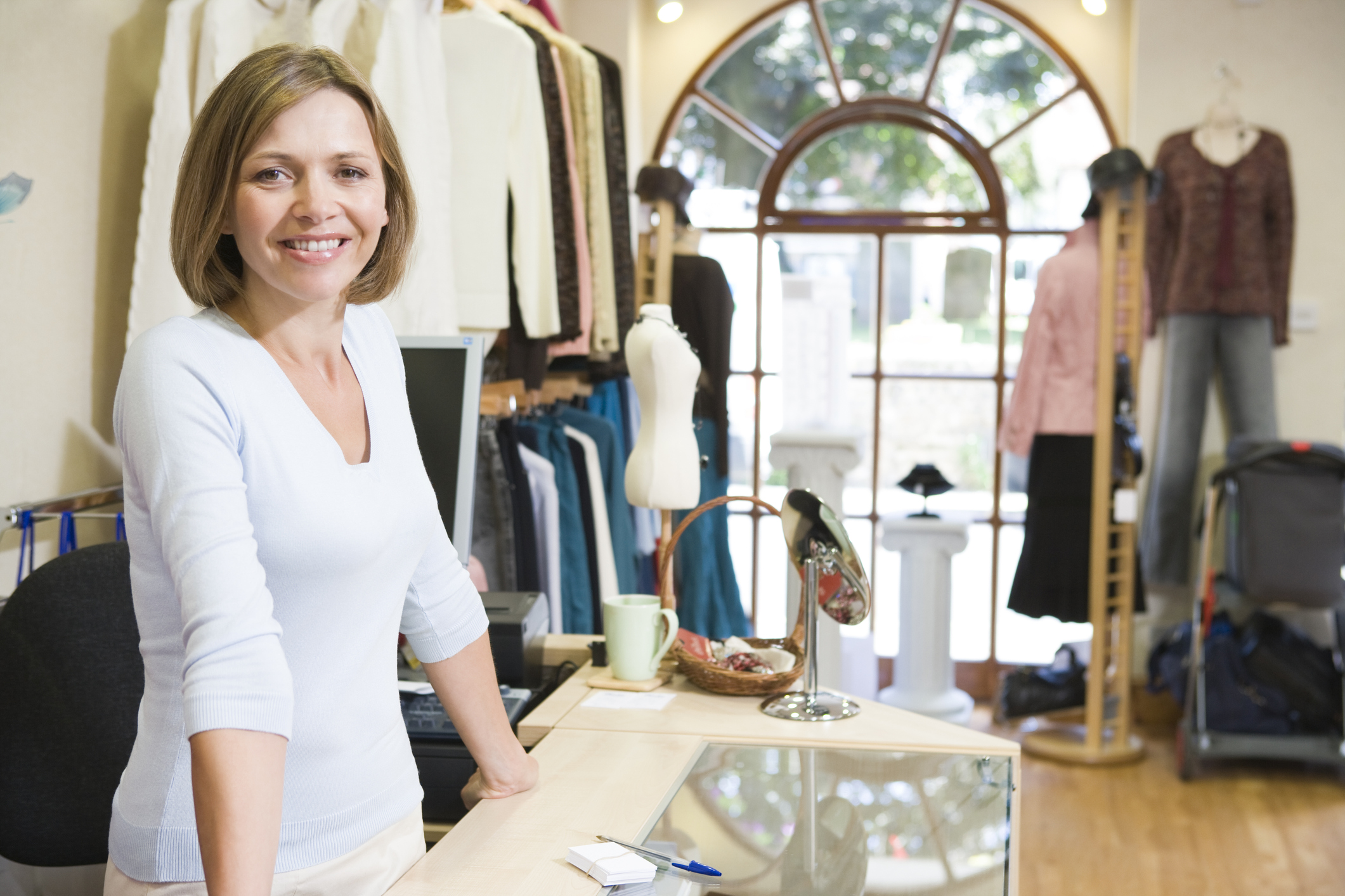 Local small business owner of a boutique